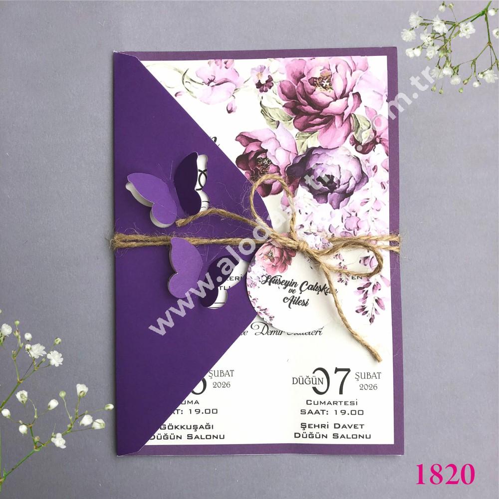 kelebekli isimlikli davetiye (2)