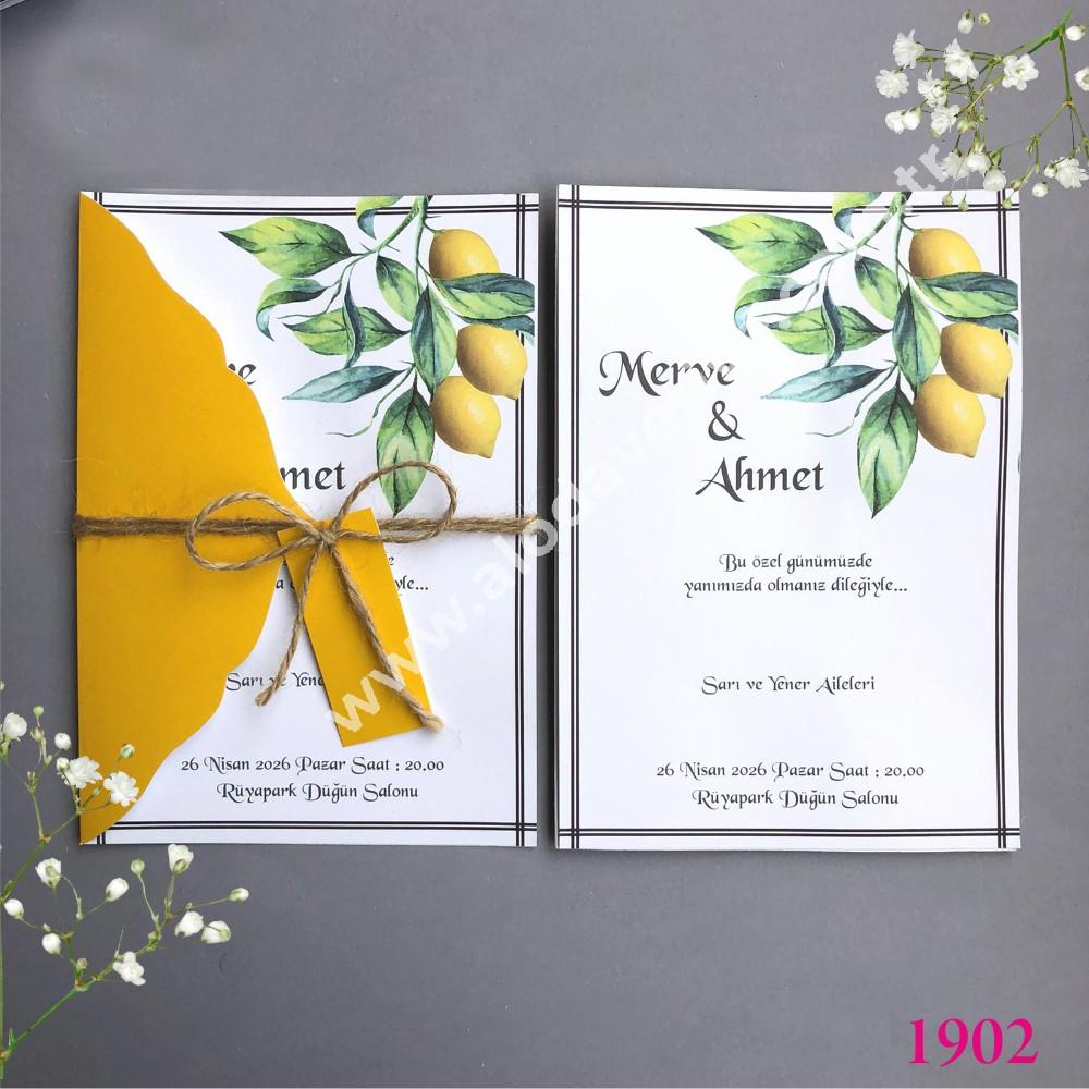 limon isimlikli davetiye