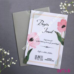 dugun davetiyesi seffaf zarf (1)